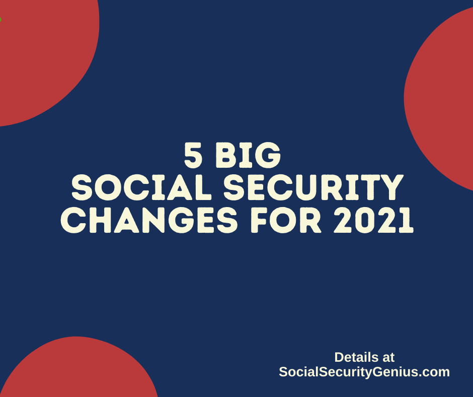 """Biggest Social Security Changes for 2021"""