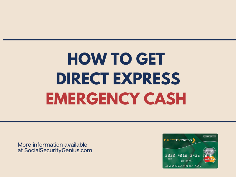 """Direct Express Emergency Cash"""