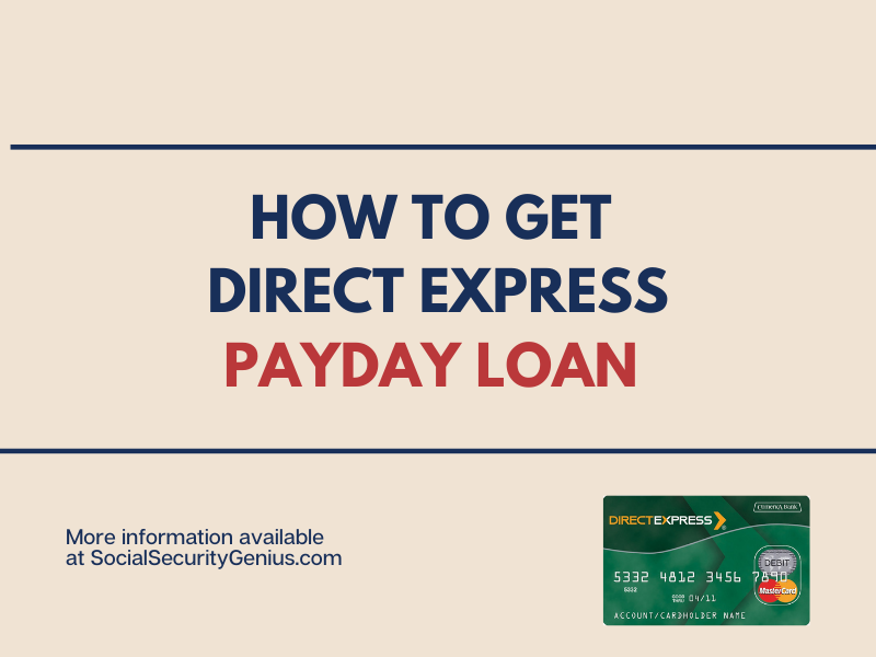 """Payday loan with Direct Express card"""